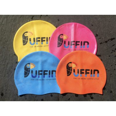 Puffin Swimming Adventures Cap