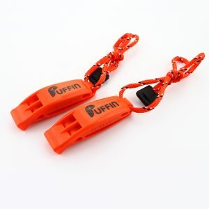 puffin swim safety whistle with lanyard