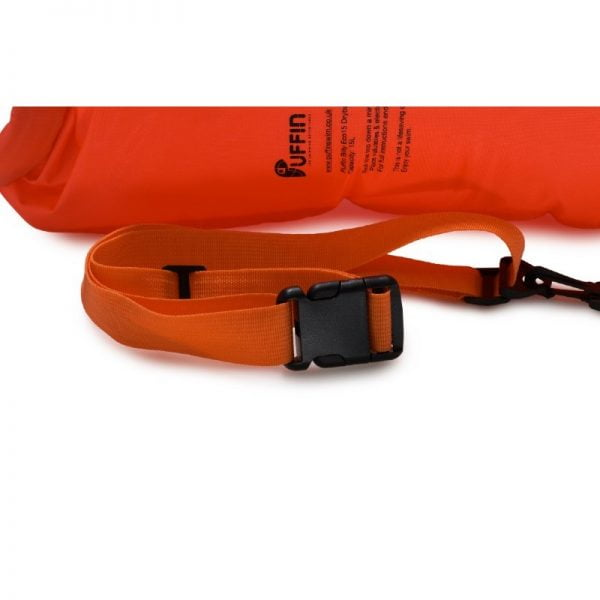 Orange waist strap for Puffin Billy 20 / 28L dry bag floats