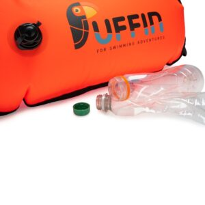 Puffin Bubble Pro made with recycled plastic bottles